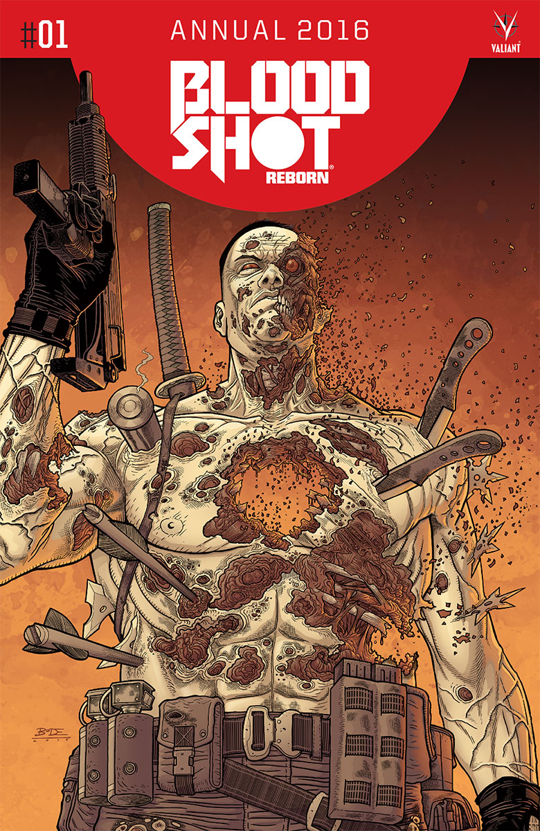 Bloodshot Reborn Annual 2016 #1 Cover