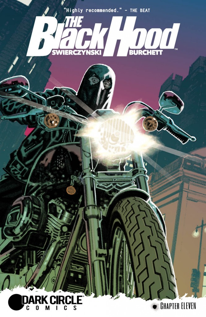 THE BLACK HOOD #11 Cover