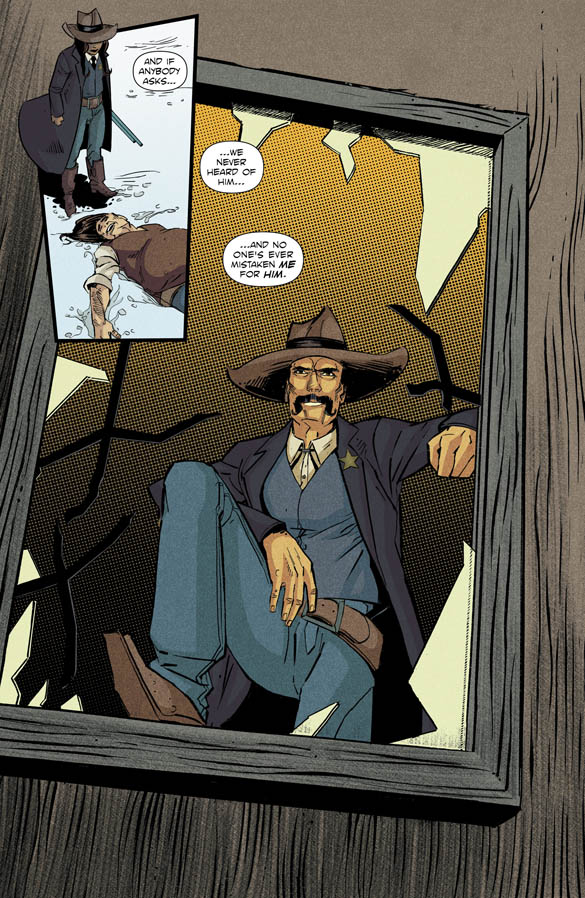 Black Jack Ketchum #2 Preview Page