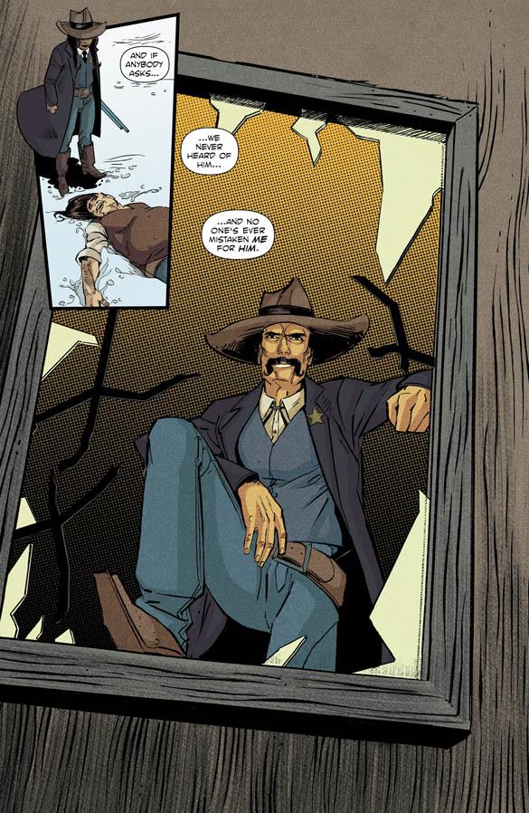 Black Jack Ketchum #2 Preview Page