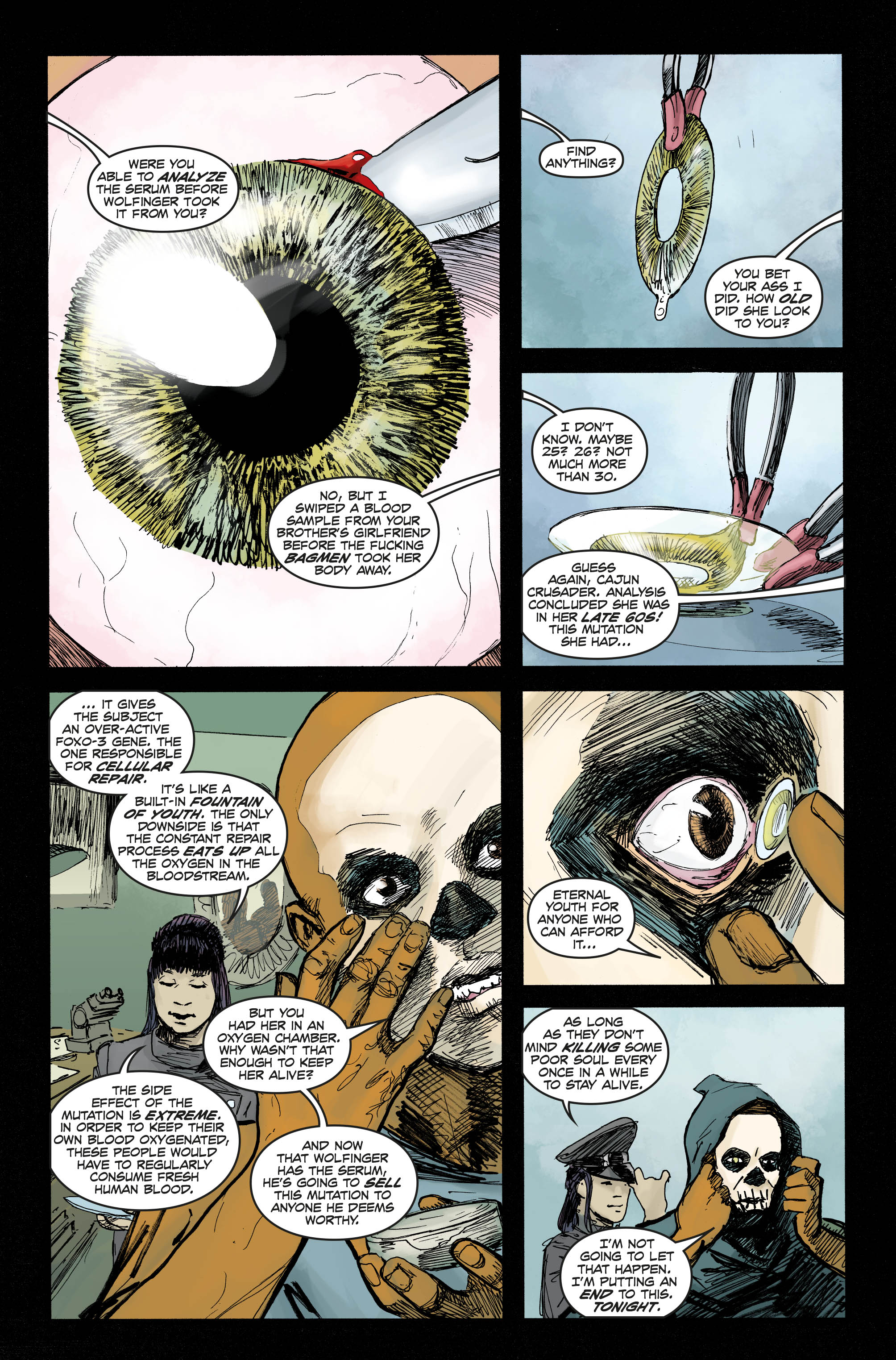 Bloodthirsty #4 Preview Page