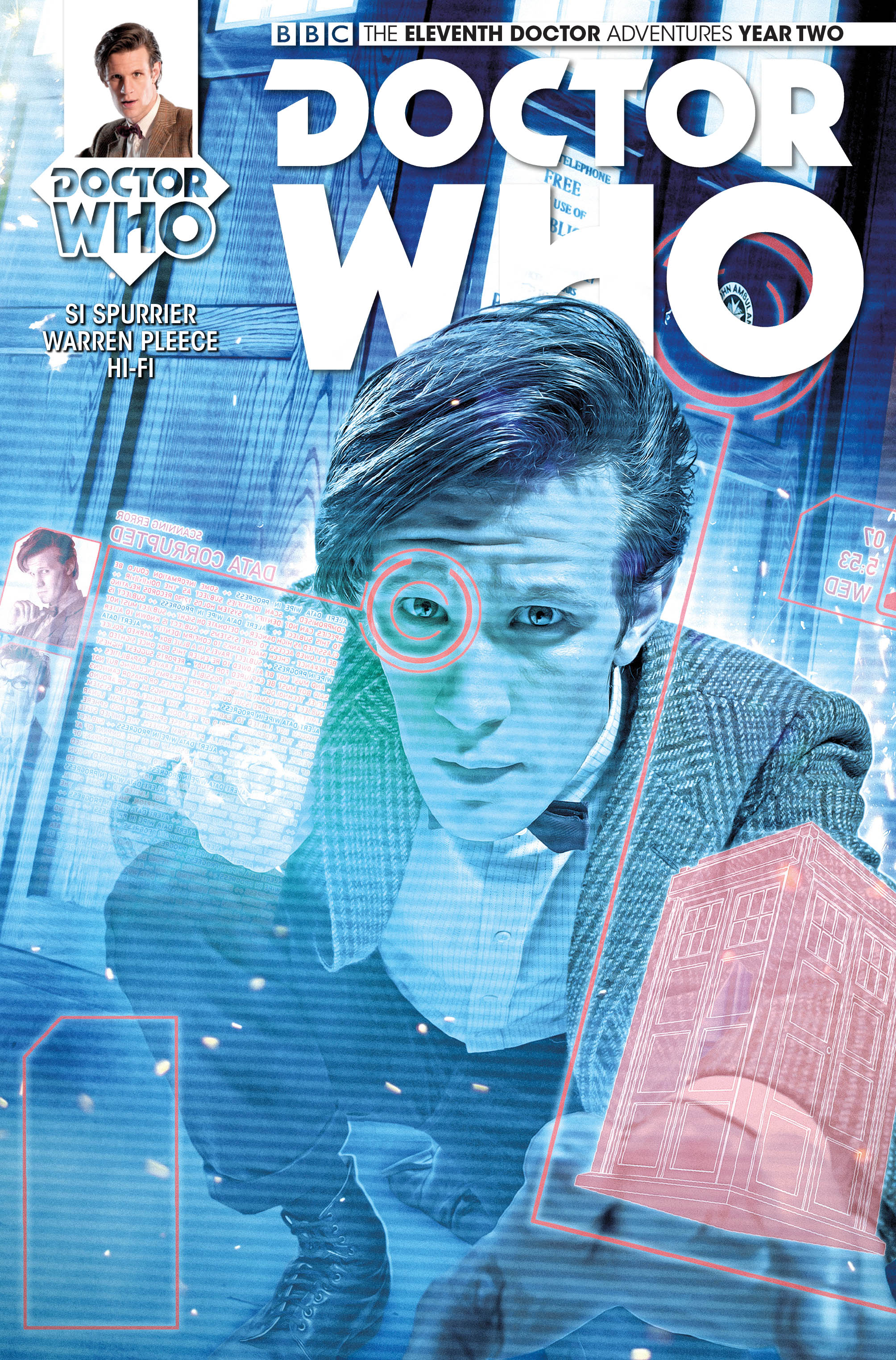 Doctor Who: The Eleventh Doctor #2.5 Cover