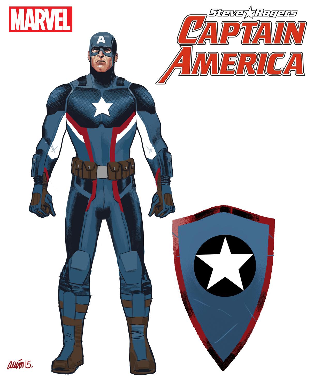 Captain America: Steve Rogers Character Design