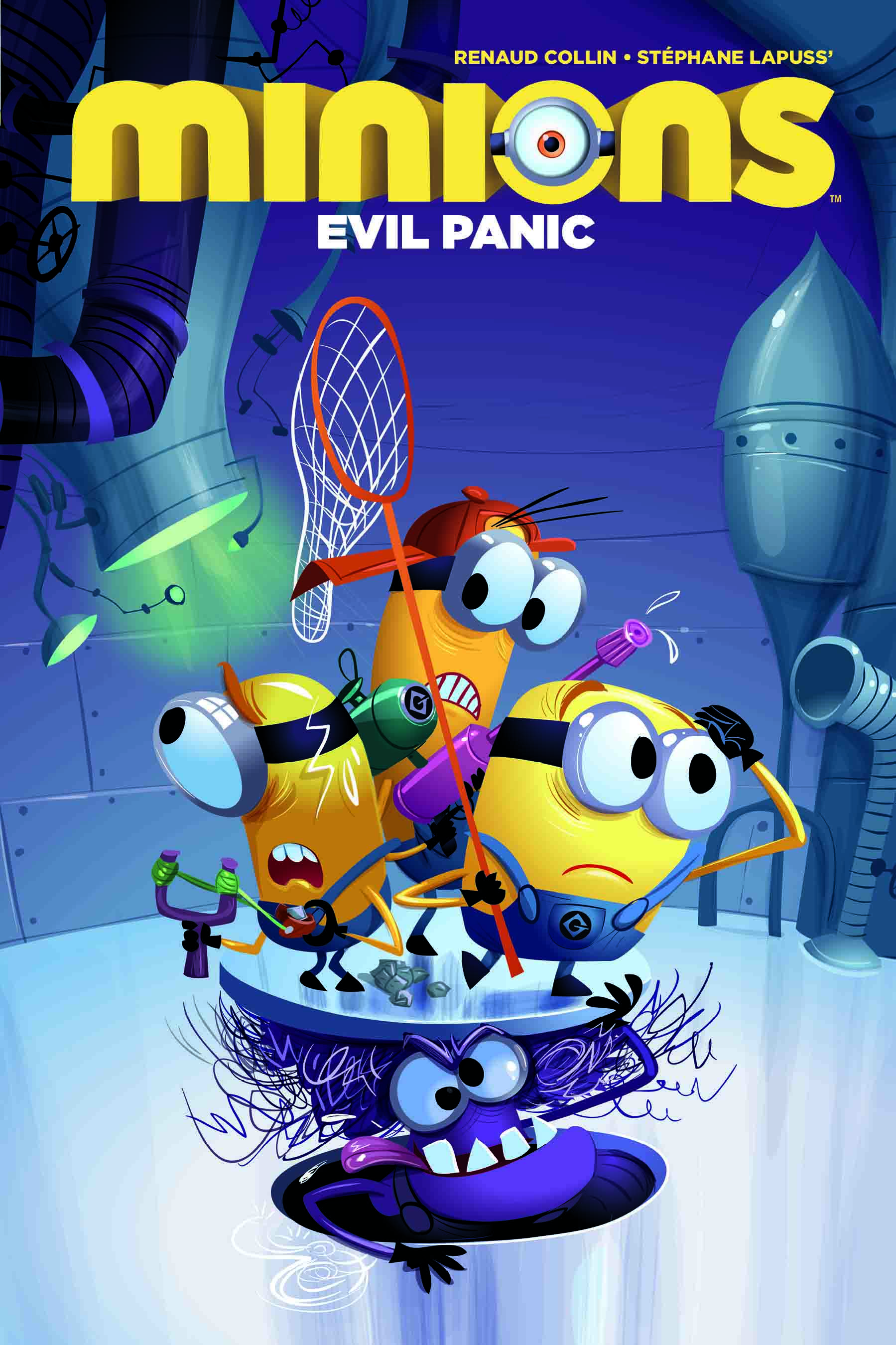 Minions Evil Panic Volume 2 Hard Cover