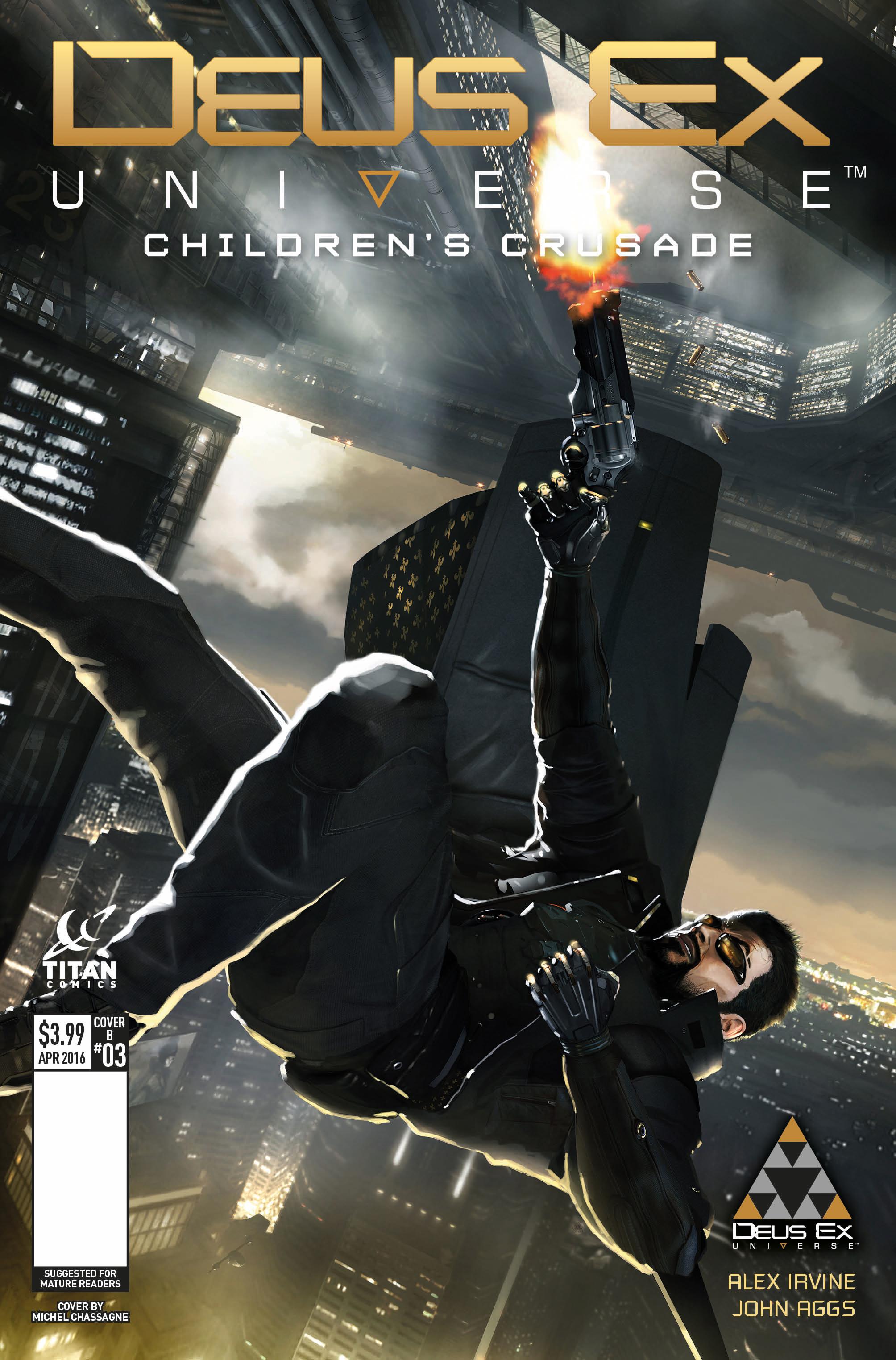 Deus Ex: Children's Crusade #3 Cover