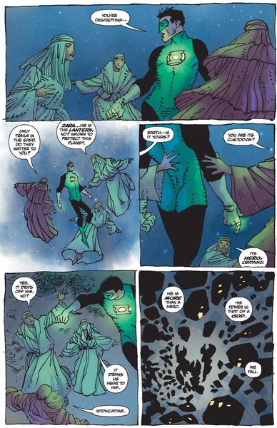 Dark Knight III #3 Mini-Comic Preview Page