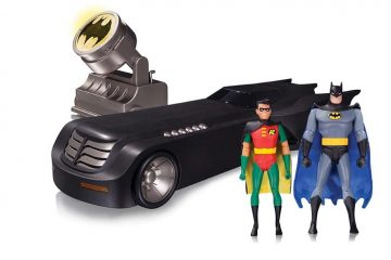 BATMAN: THE ANIMATED SERIES DELUXE BATMOBILE