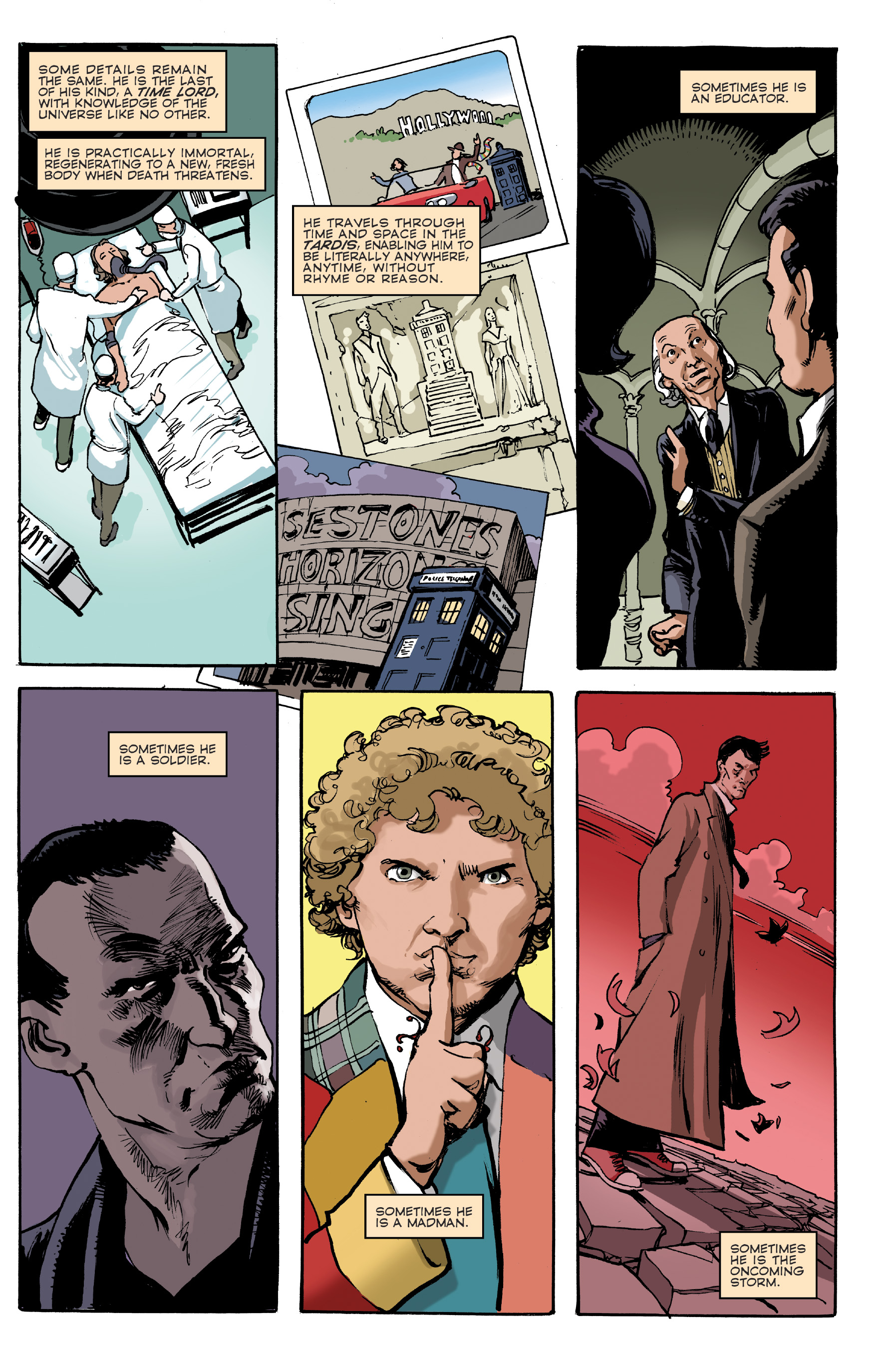 Doctor Who: Prisoners of Time Omnibus Preview Page