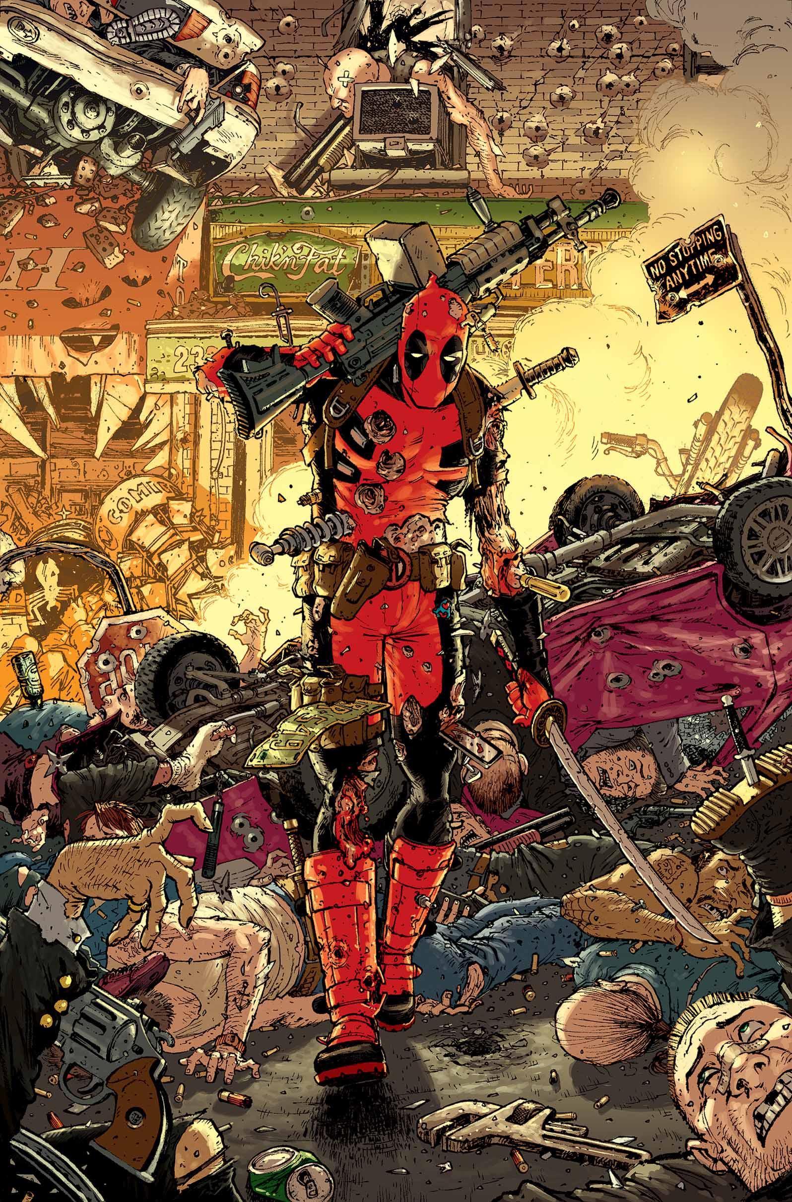 Deadpool #7 Cover