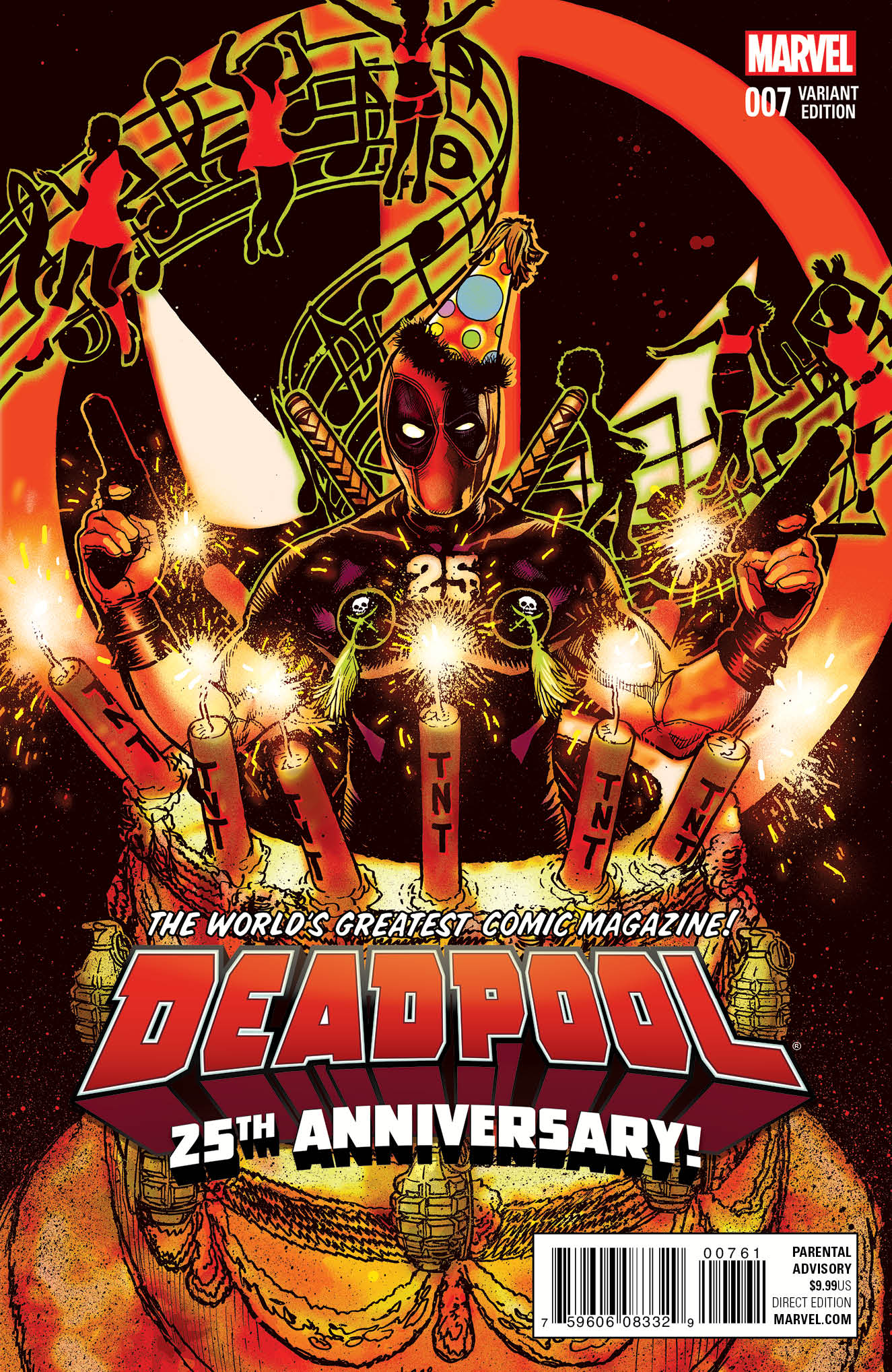Deadpool #7 Cover