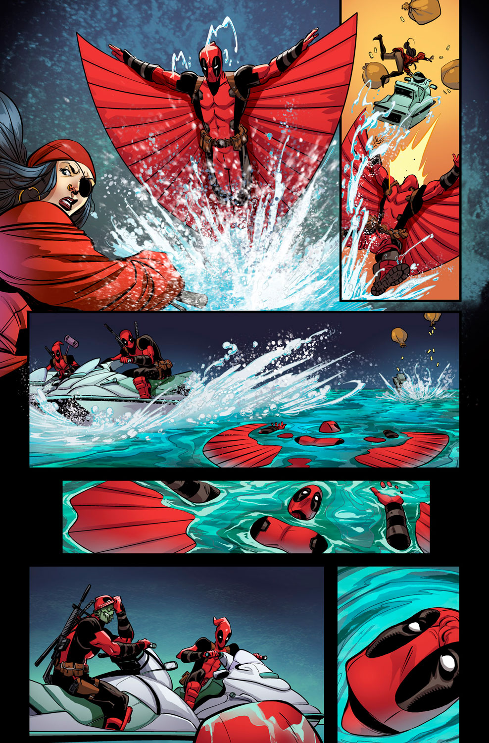 Deadpool #7 Preview Page