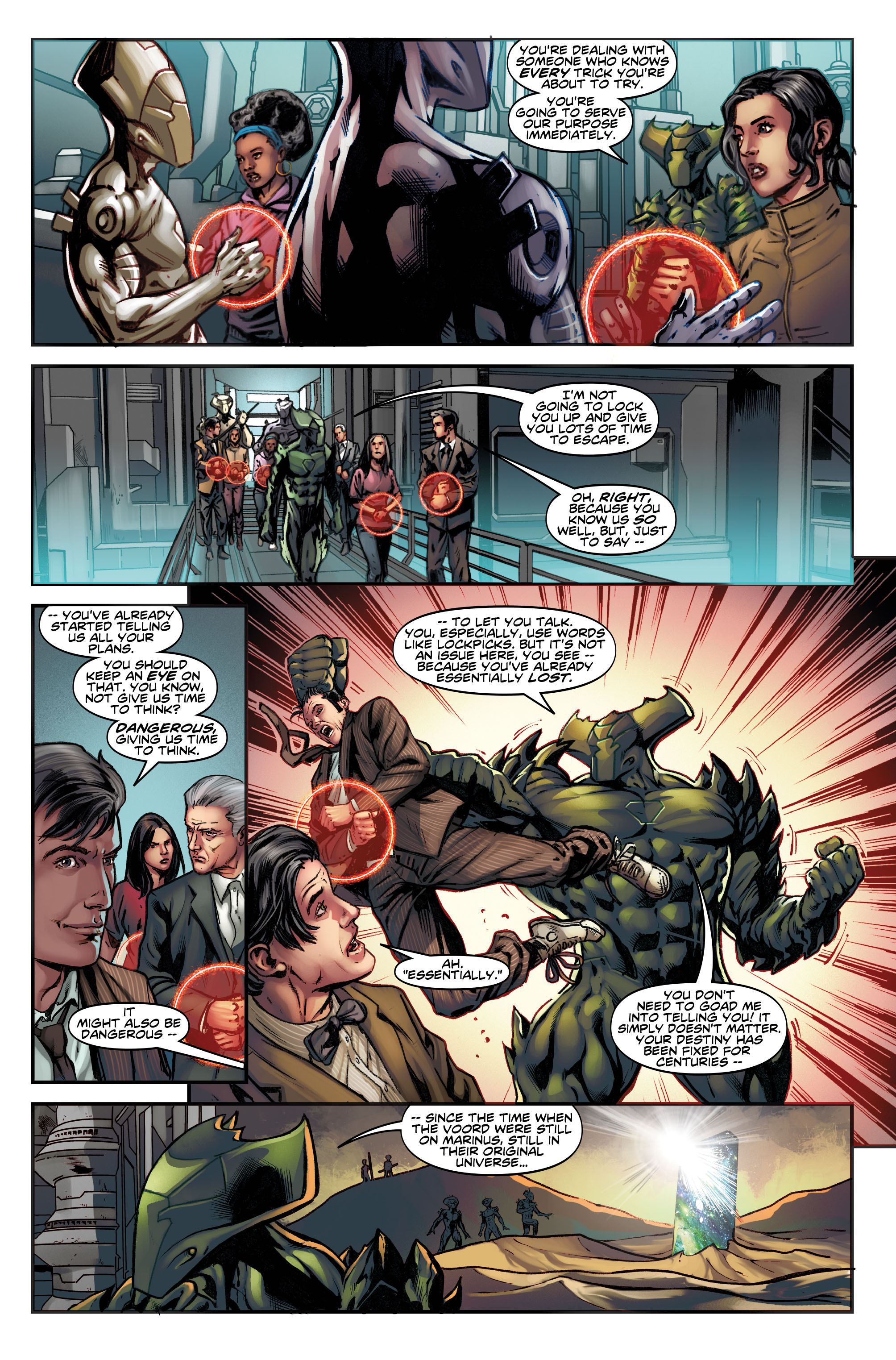 Doctor Who: Four Doctors Preview Page