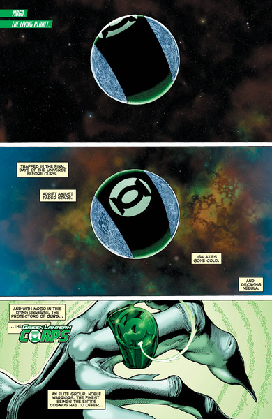 Green Lantern Corps: Edge of Oblivion #1 Preview Page