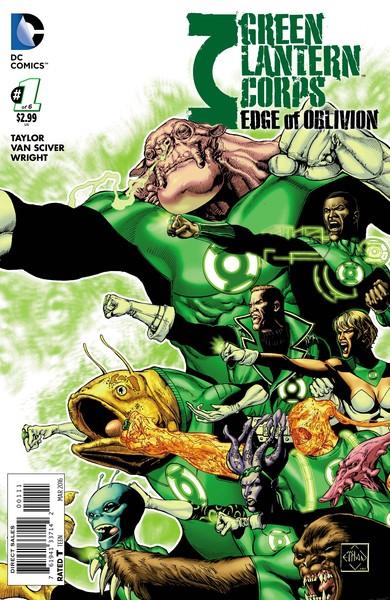 Green Lantern Corps: Edge of Oblivion #1 Cover