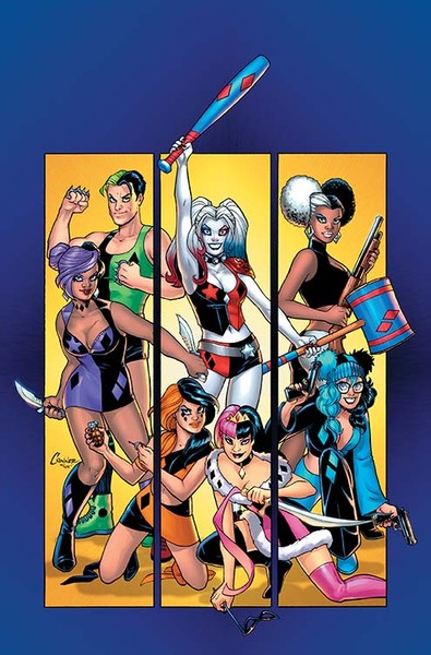 HARLEY QUINN AND HER GANG OF HARLEYS #1 Cover