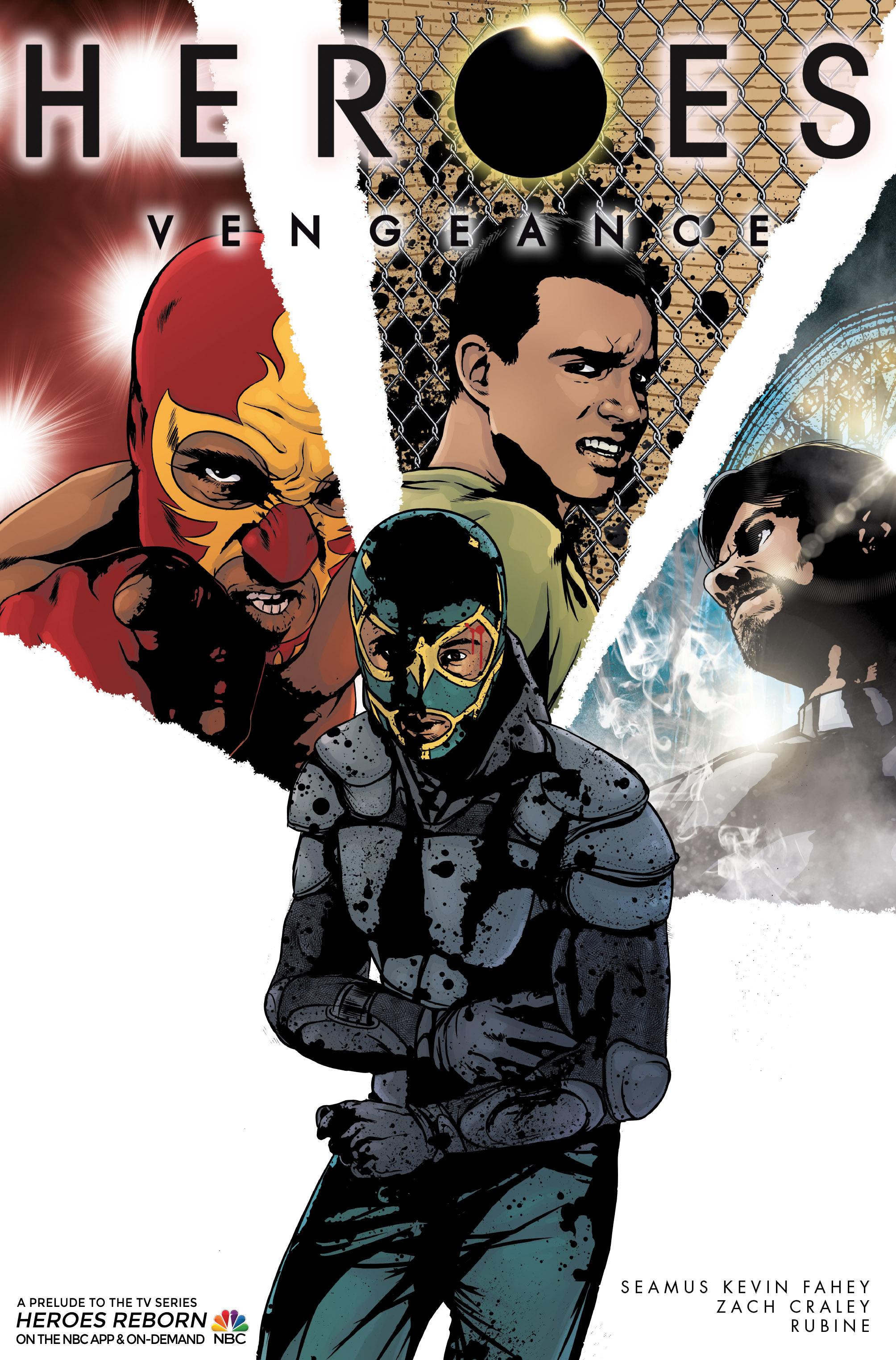 Heroes Vengeance #4 Cover