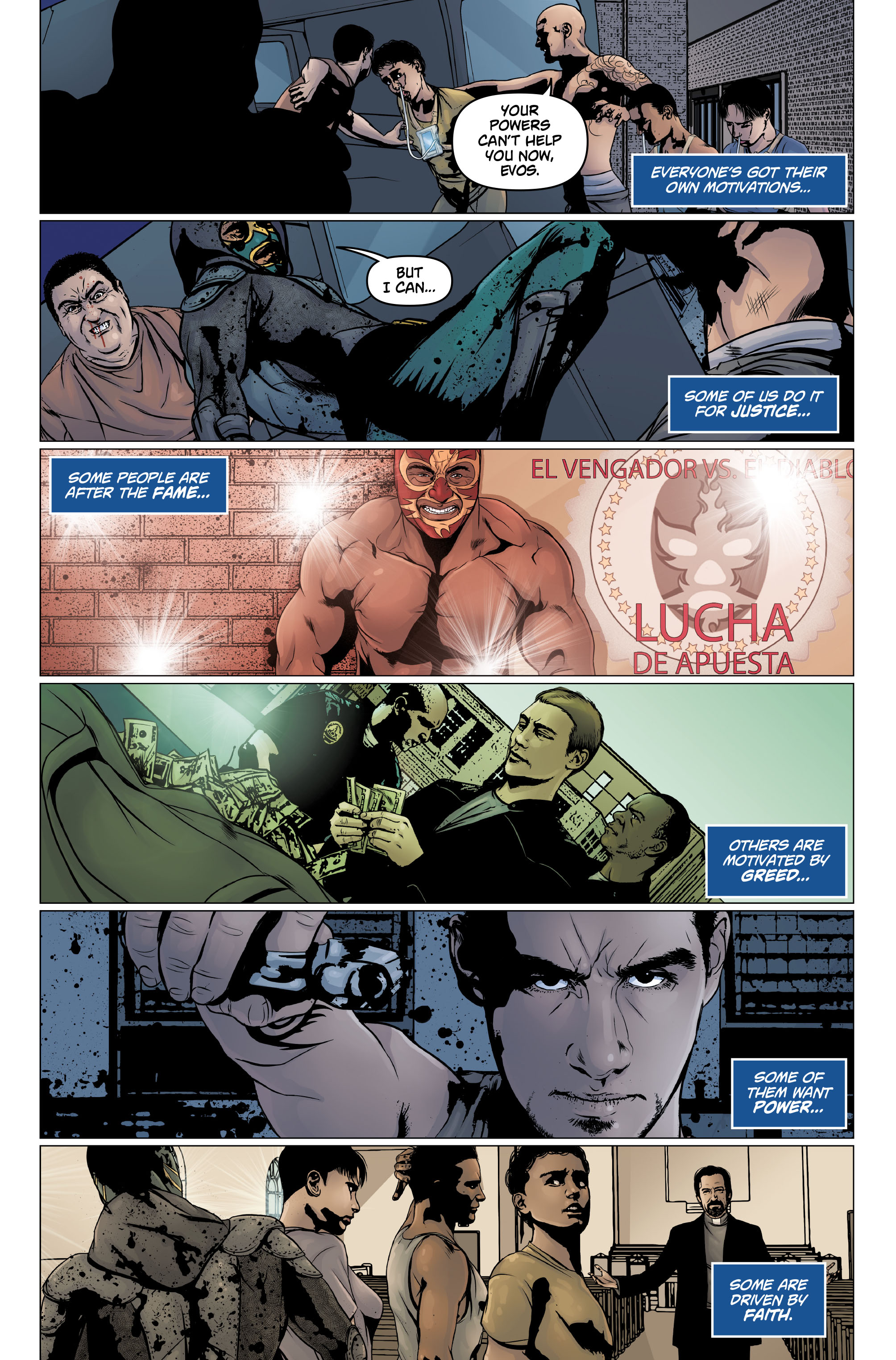 Heroes Vengeance #4 Preview Page