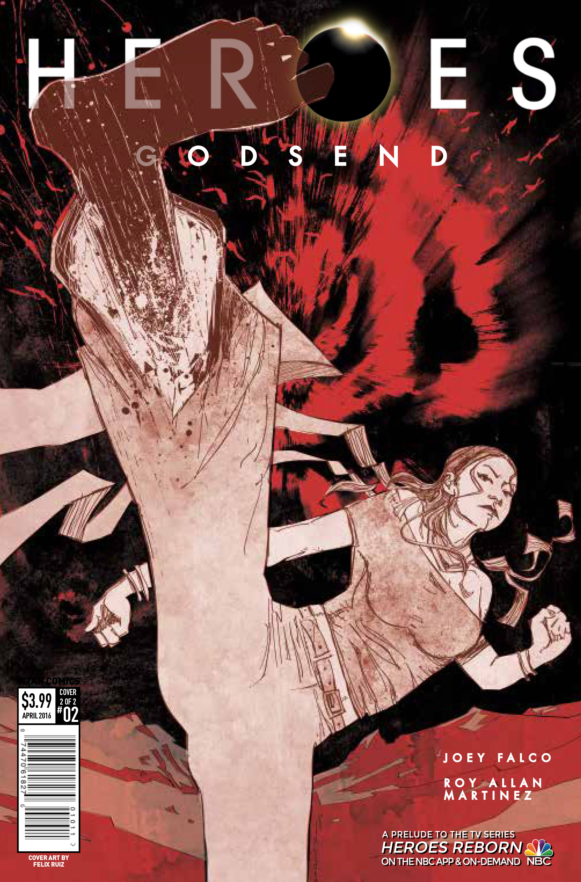 Heroes Godsend #2 Cover