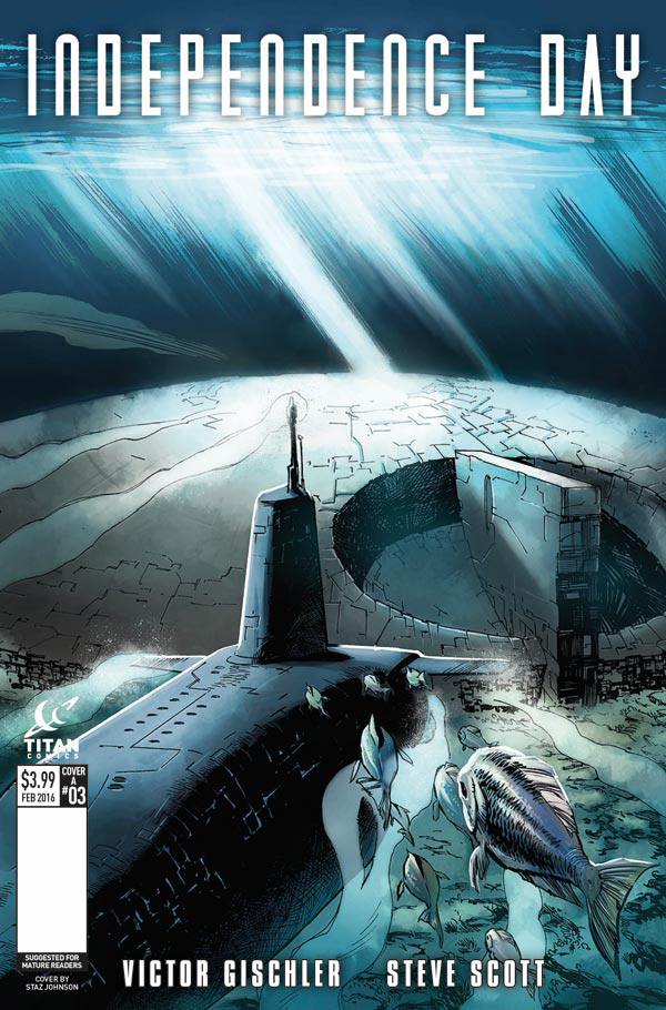 Independence Day #3 Cover