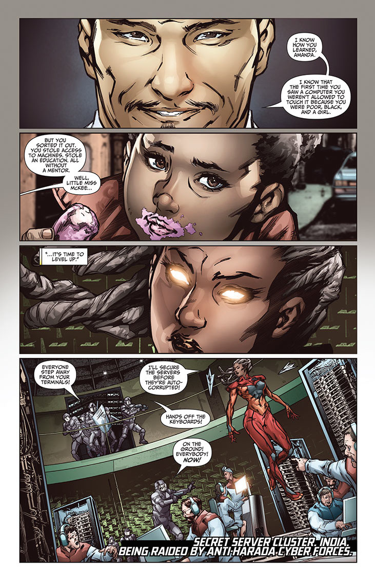 Imperium #13 Preview Page