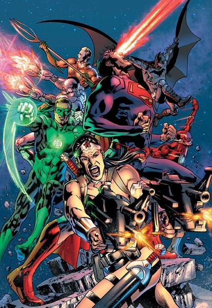 JUSTICE LEAGUE OF AMERICA #10 Cover