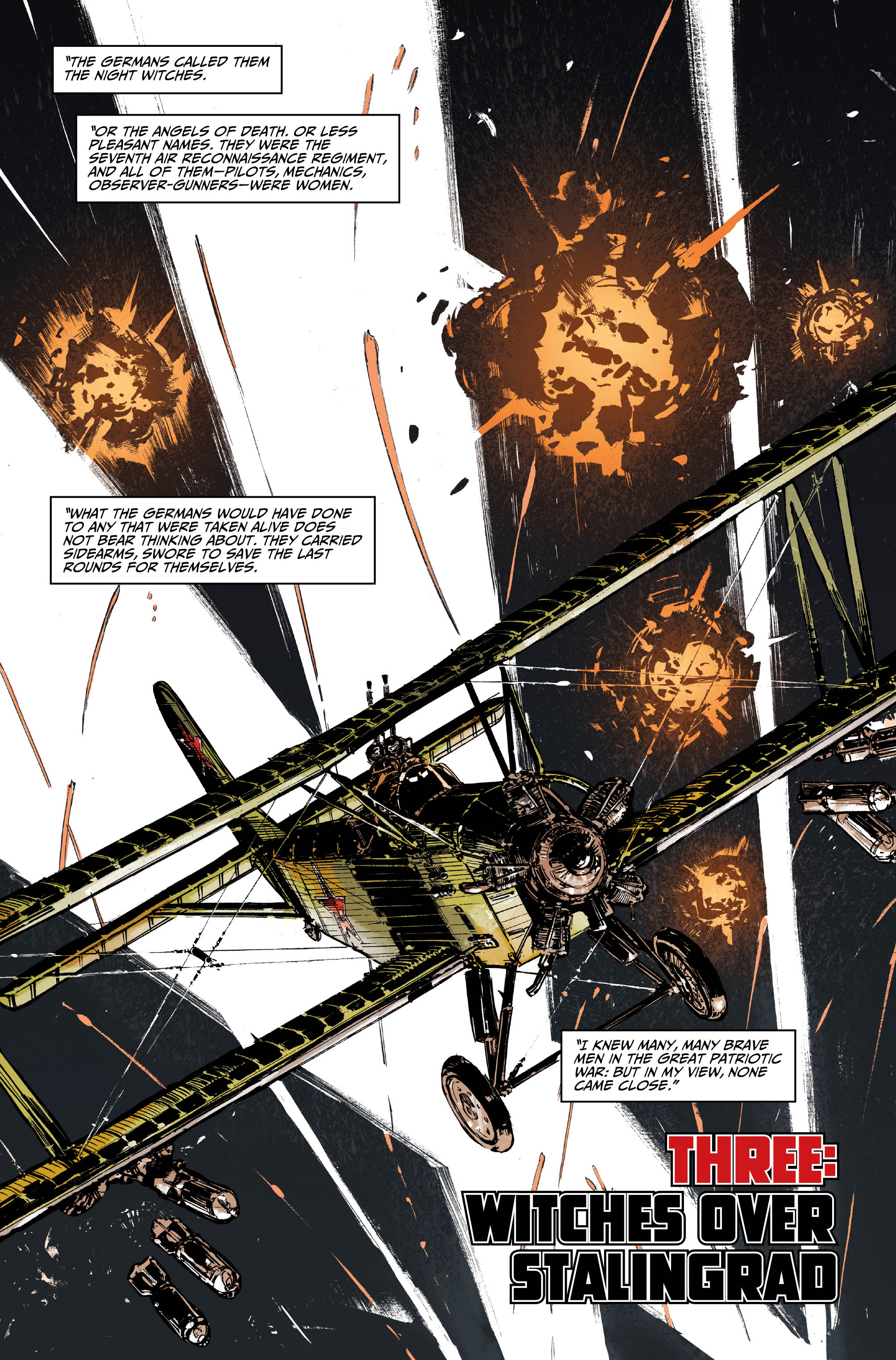 Johnny Red #3 Preview Page