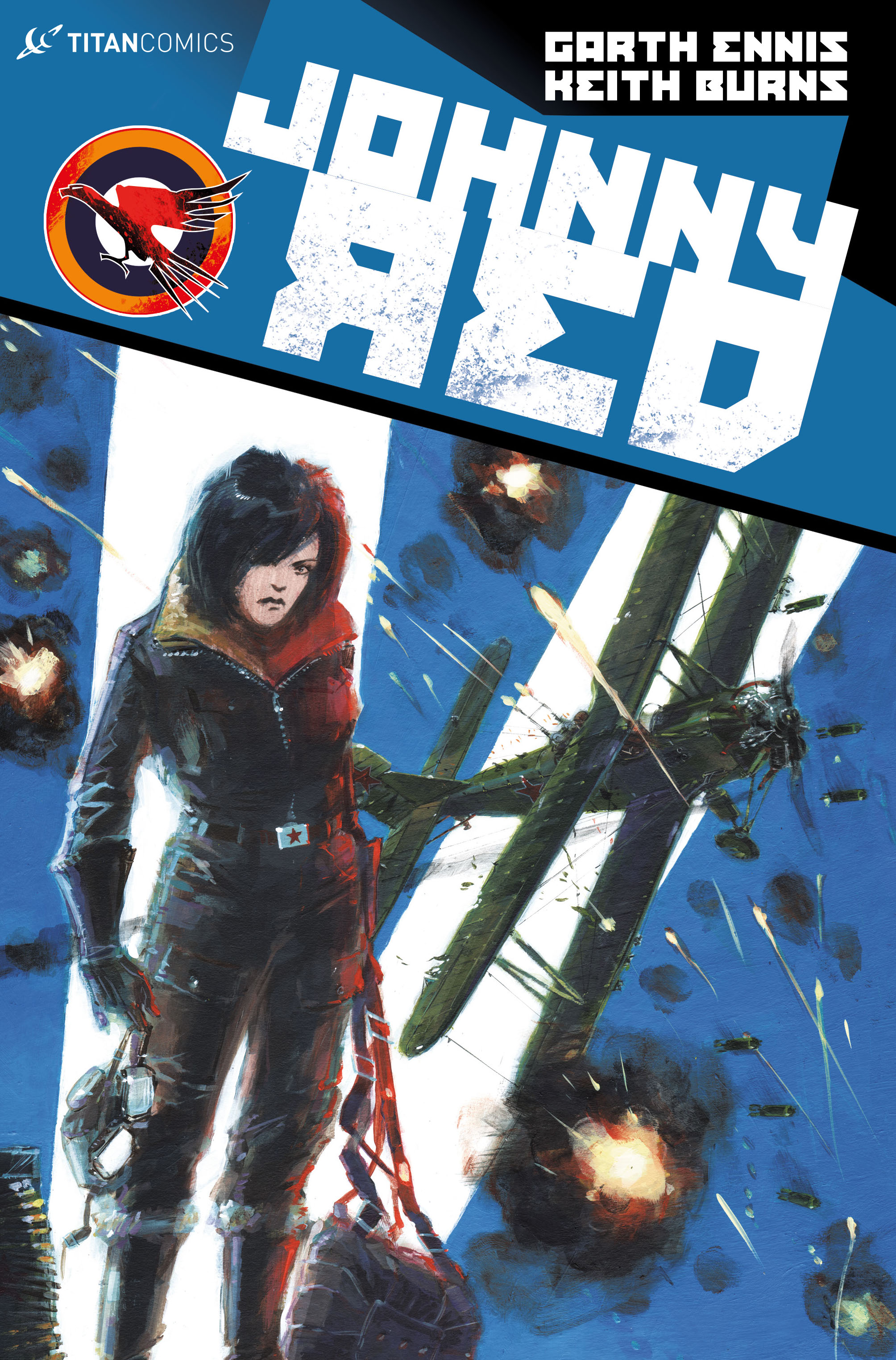 Johnny Red #3 Cover