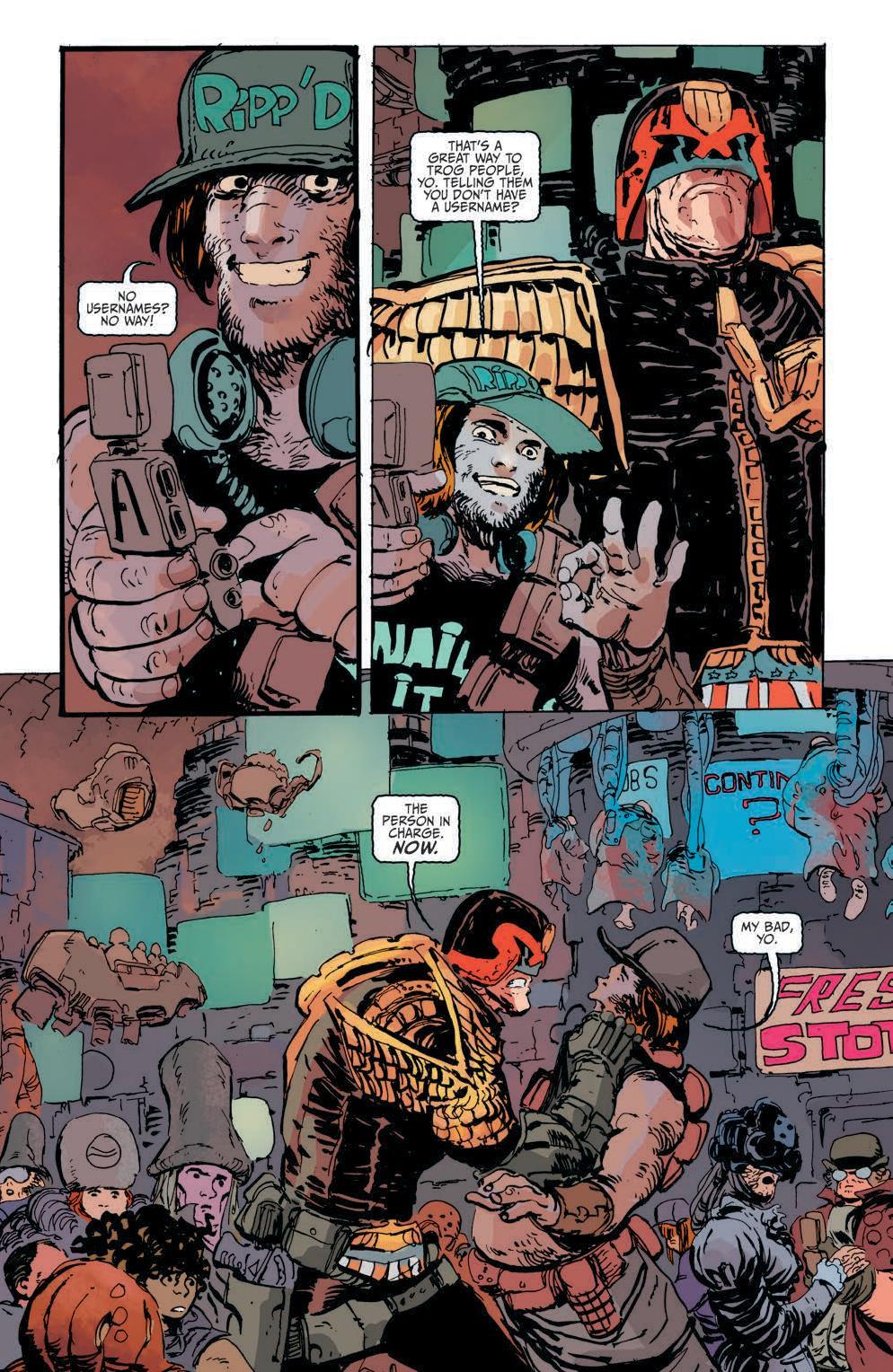 Judge Dredd #2 Preview Page