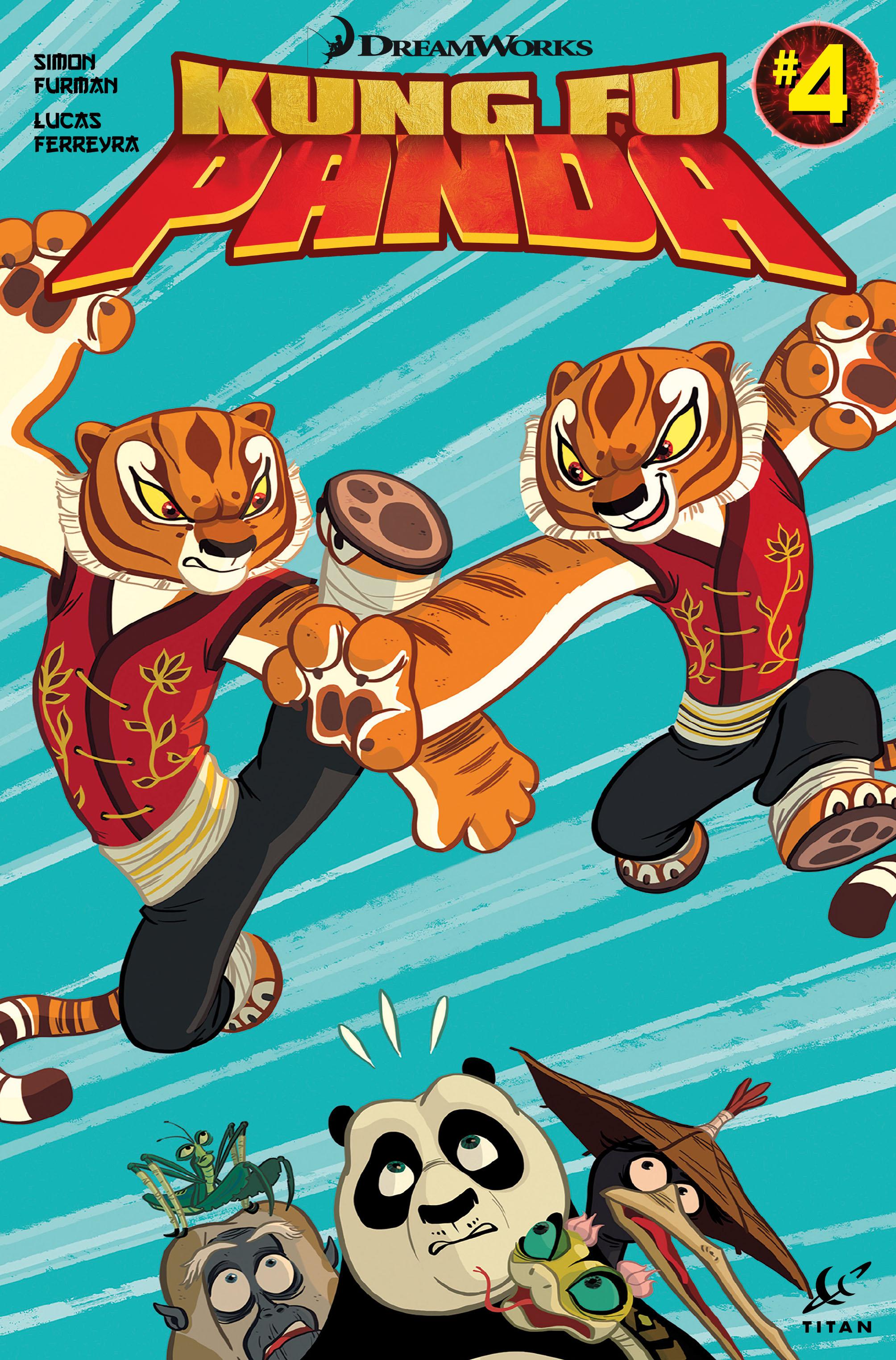 Kung Fu Panda #4 Cover