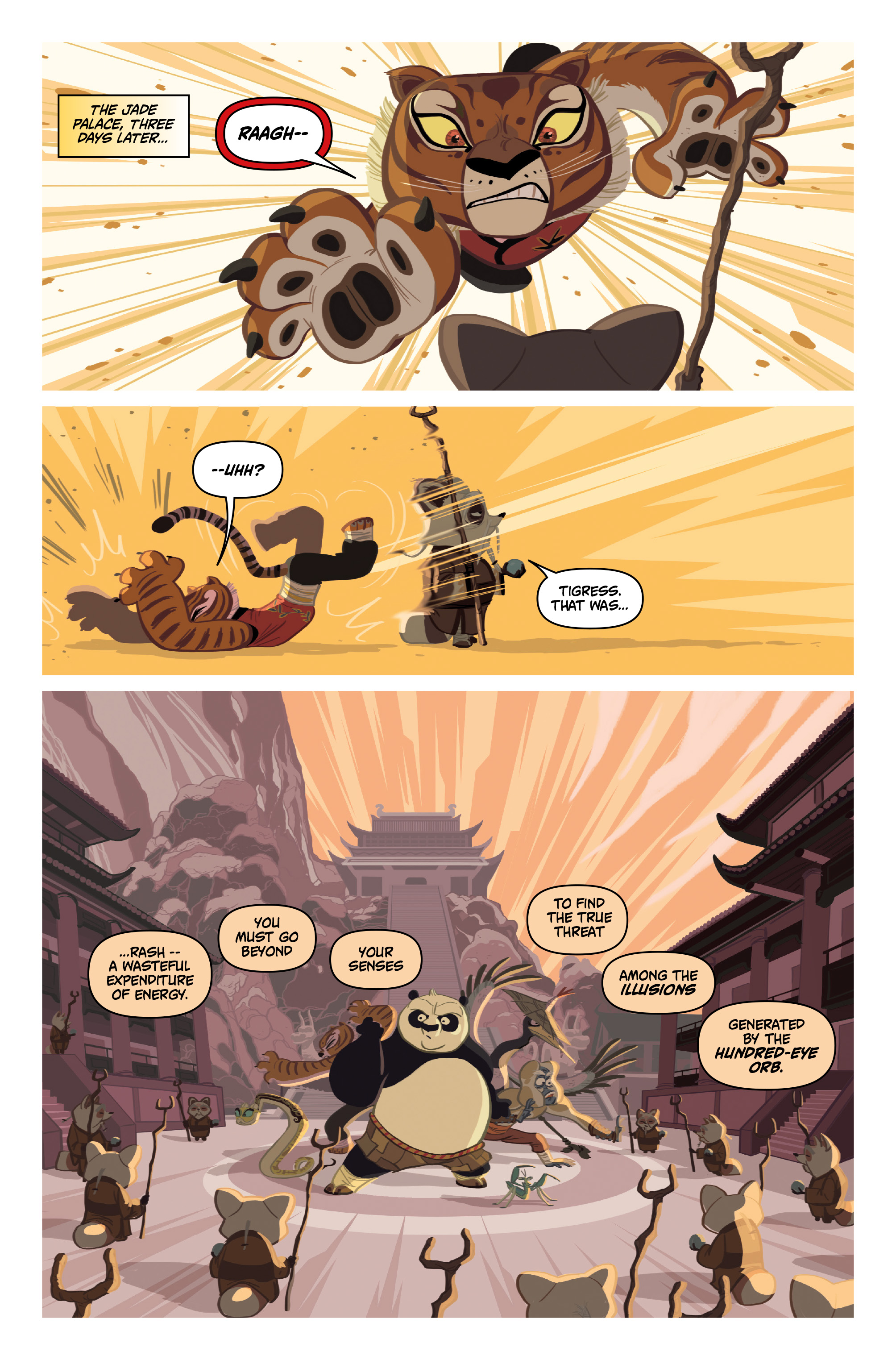 Kung Fu Panda #4 Preview Page
