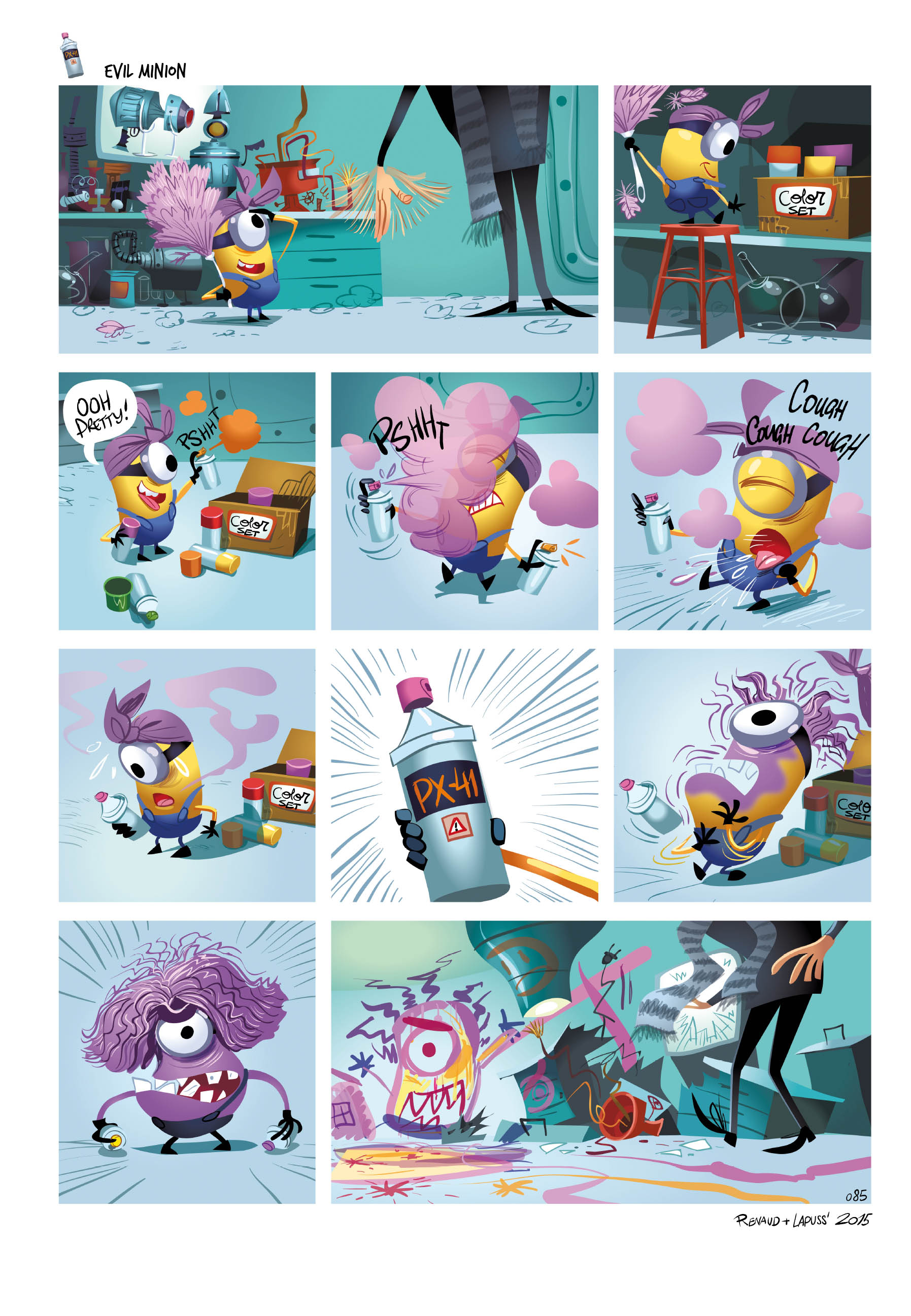 Minions Evil Panic Volume 2 Preview Page