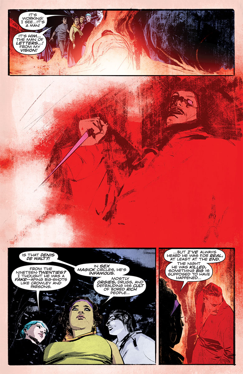 The Death-Defying Doctor Mirage #2 Preview Page