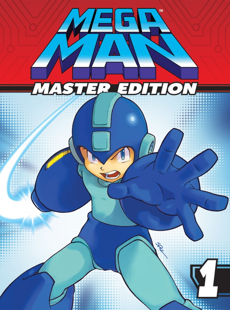 MEGA MAN: MASTER EDITION VOL. 1 (TR) Cover