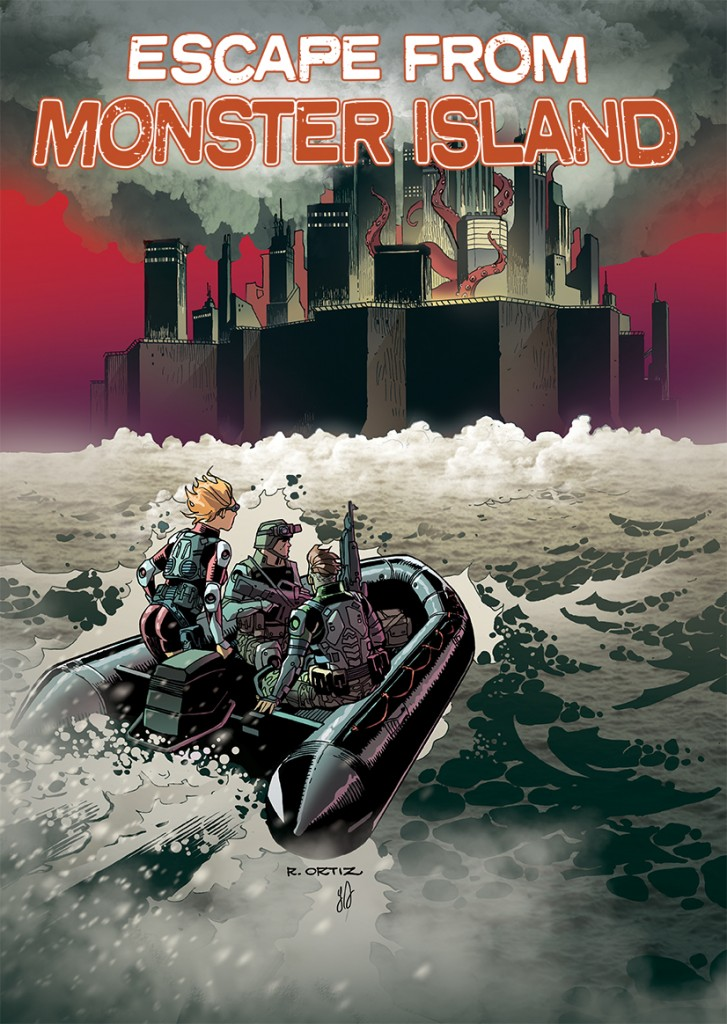 Escape From Monster Island #1 Cover