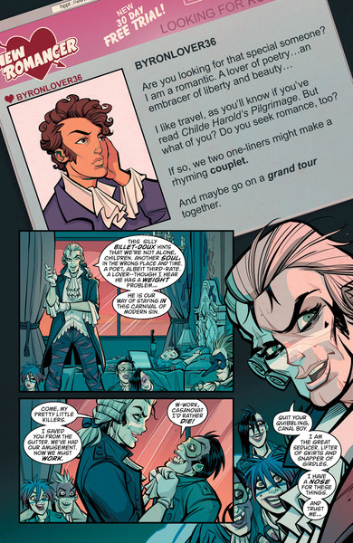 New Romancer #2 Preview Page