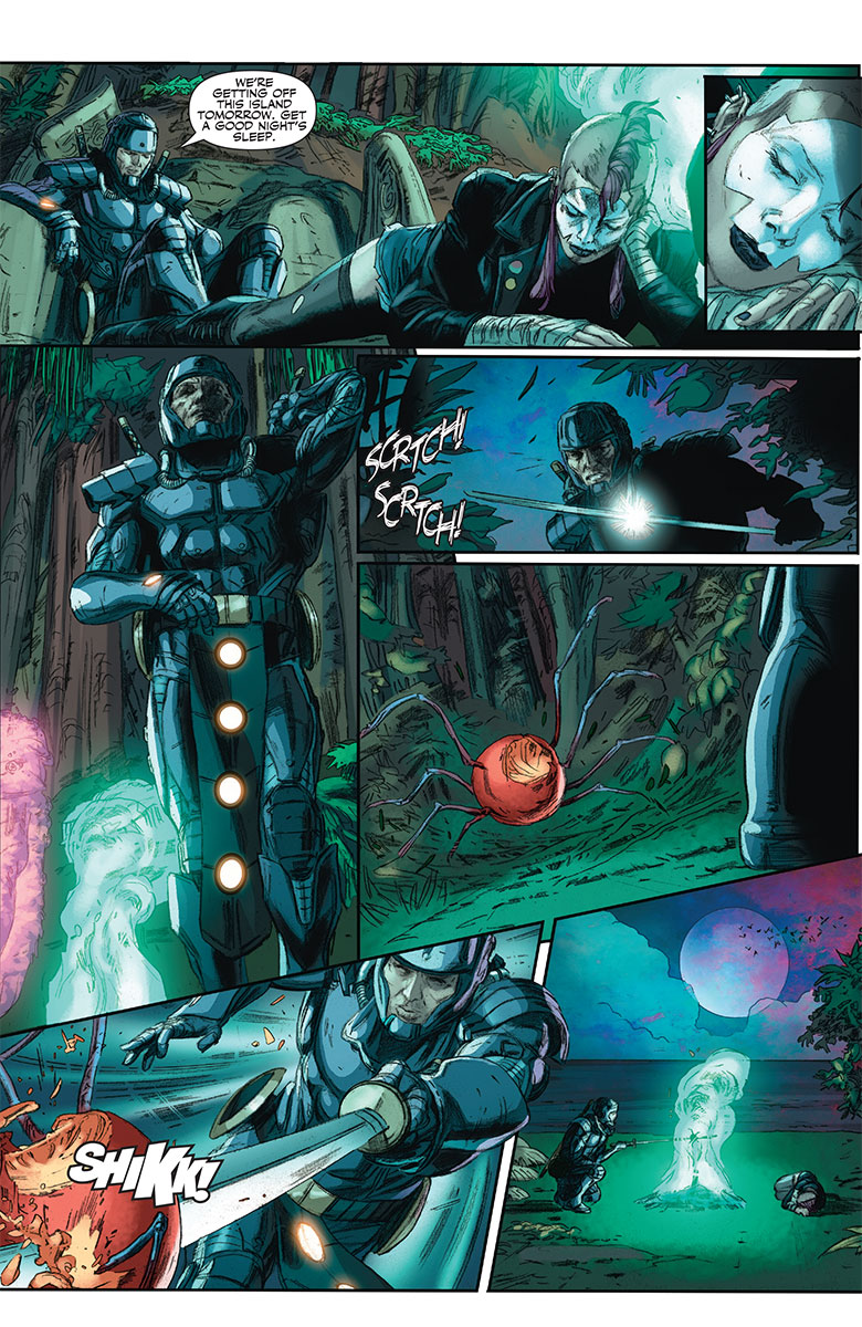 Ninjak #11 Preview Page