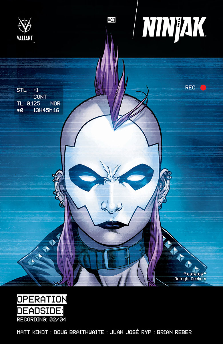 Ninjak #11 Cover