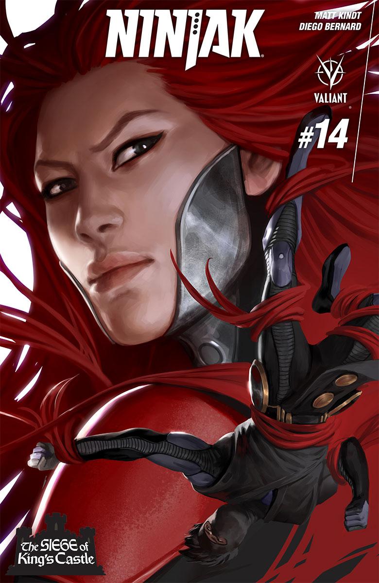 Ninjak #14 Cover