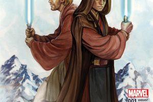 Star Wars: Obi-Wan & Anakin #1 Variant Cover by Siya Oum