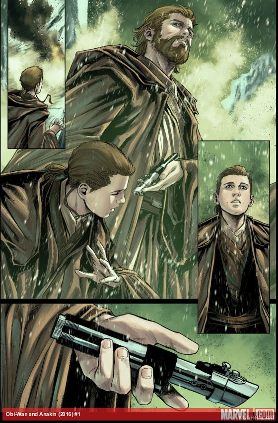 Star Wars: Obi-Wan & Anakin #1 Preview Page