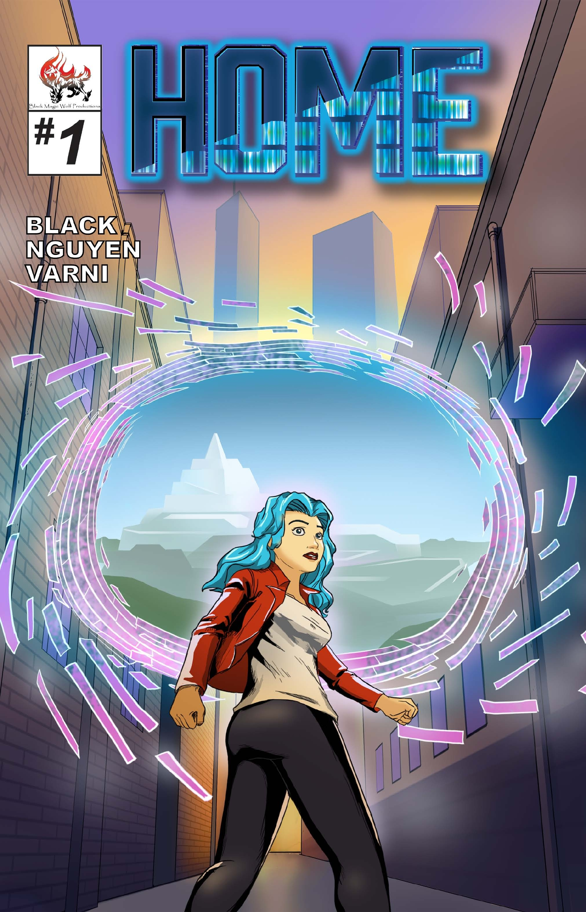 Home #1 Cover