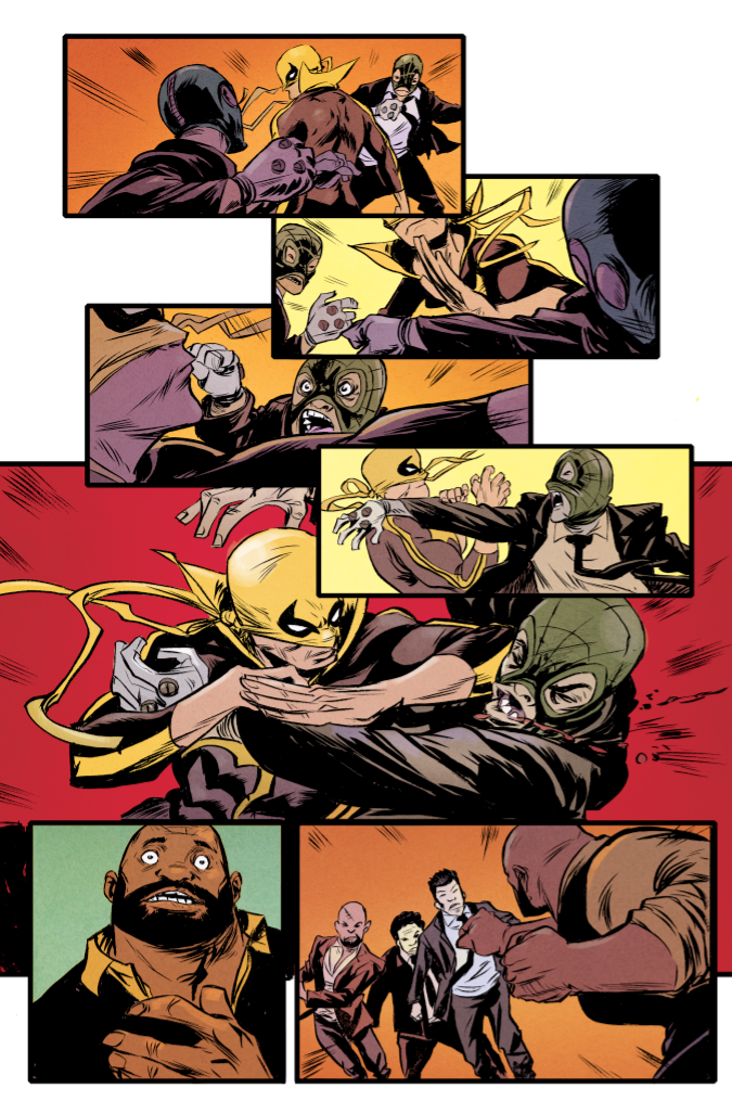 Power Man and Iron Fist #1 First Look
