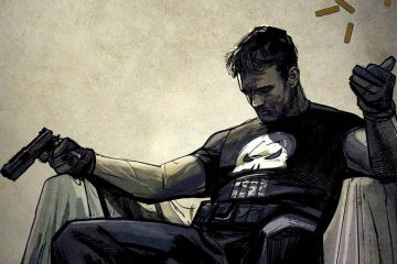 The Punisher #1 Variant Cover by Alex Maleev
