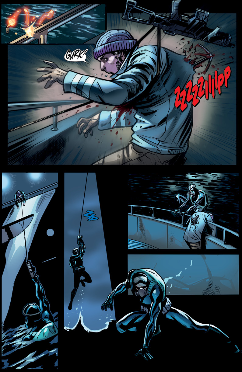 Red Agent #1 Preview Page