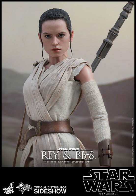 Rey and BB-8 Sixth Scale Figure Set by Hot Toys
