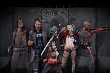 Suicide Squad Statues