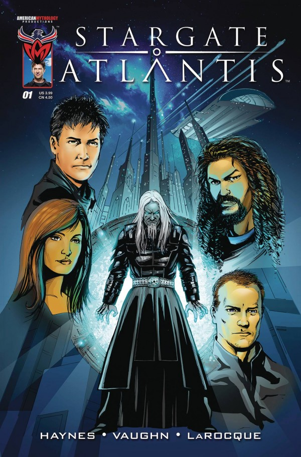 Stargate: Atlantis: Back to Pegasus #1 Cover