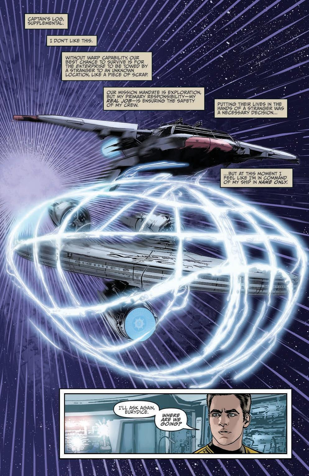 Star Trek Ongoing #44 Preview Page