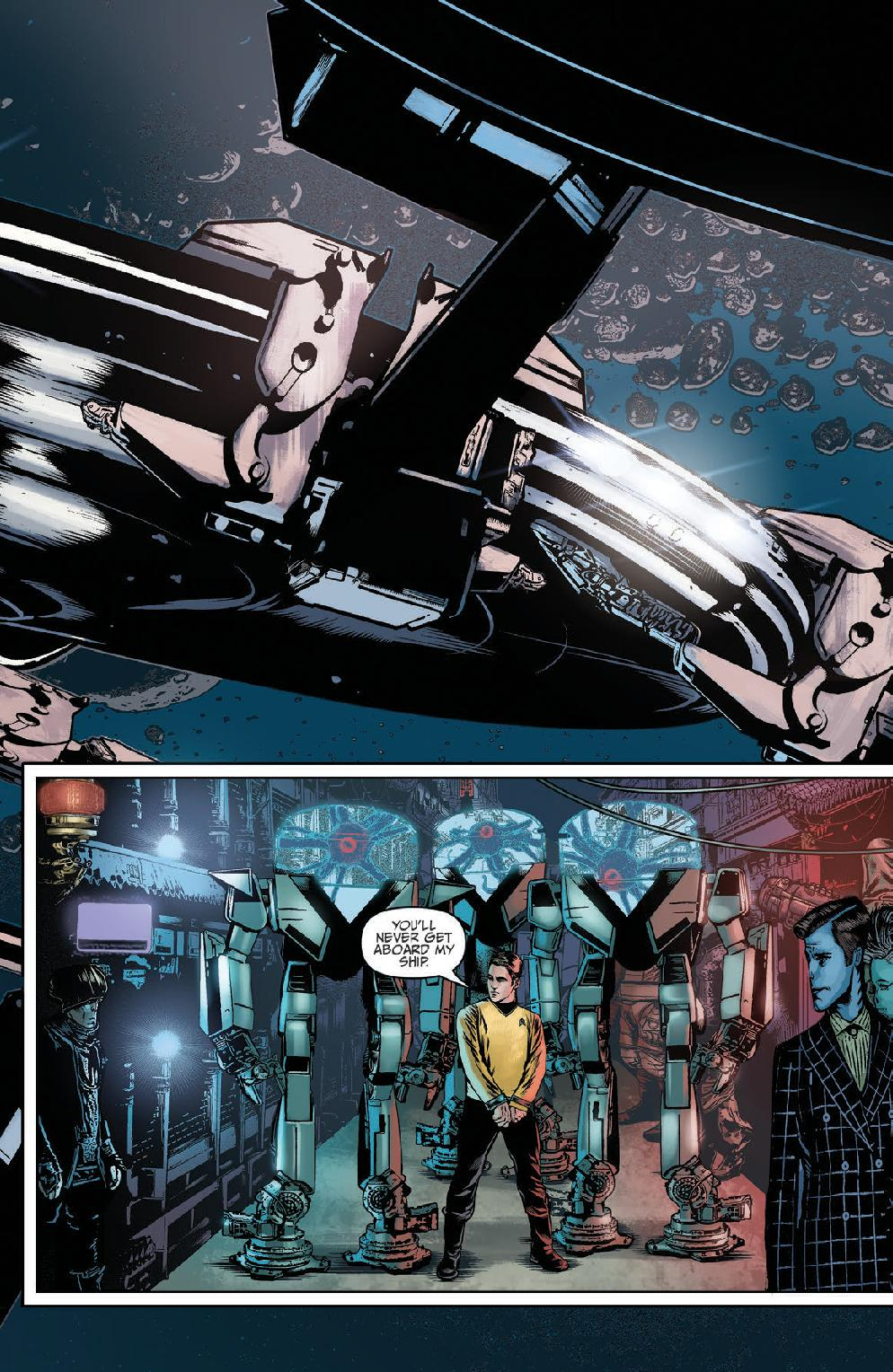 Star Trek Ongoing #45 Preview Page