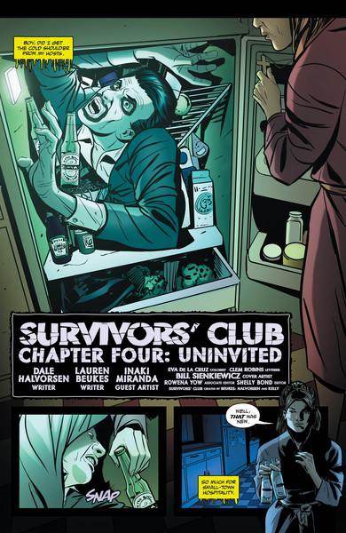 Survivor's Club #4 Preview Page